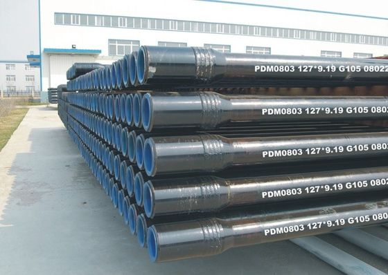 China Steel Drill Stem Pipe Down The Hole Drilling Tools , API 5DP Standard Oil Well Drill Pipe supplier