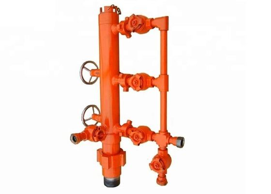 Standard Oilfield Cementing Tools Single / Double Plug Cementing Head Cementing Equipment